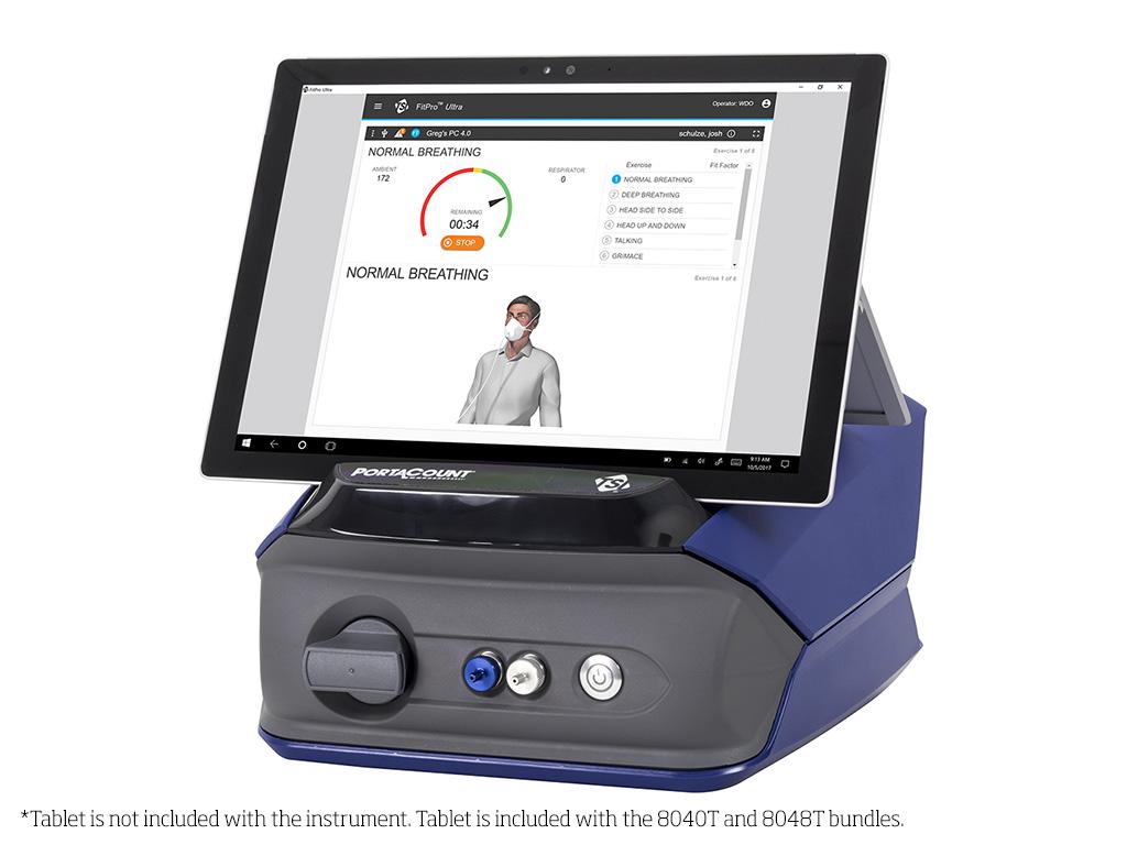 美国特赛-8040型PORTACOUNT 呼吸器适合性检验仪